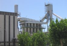 Ingetecsa Flash Dryer with cyclones at Tate & Lyle Zaragoza, today Tereos