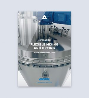 Brochure Andritz Gouda Helix dryer