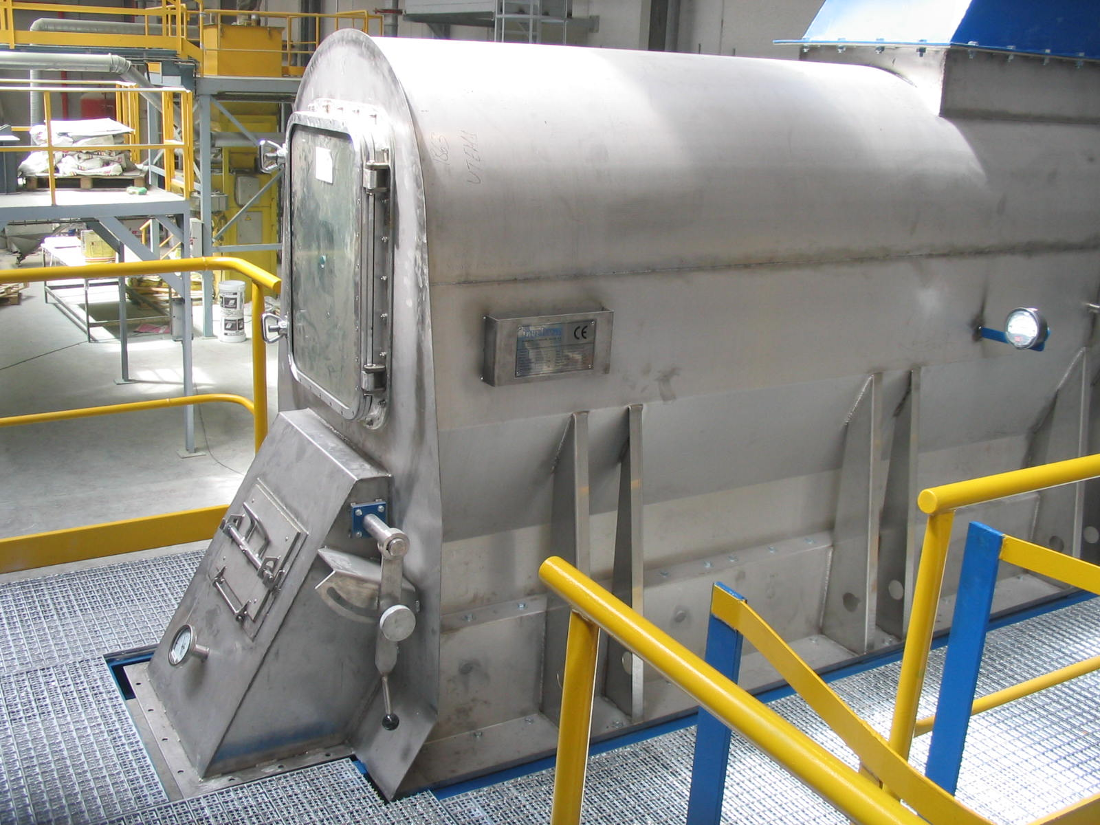 Ingetecsa's fluidised bed cooler offers very high availability and reliability plus gentle product treatment