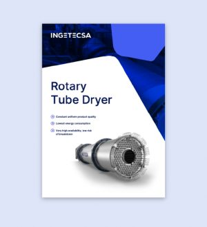 Ingetecsa Rotary Tube Dryer, brochure