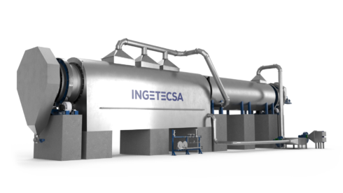 Ingetecsa's Rotary calciners excel in robustness, high efficiency and low maintenance