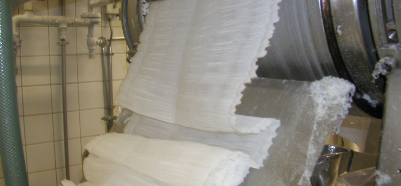 Protein drying on a drum dryer