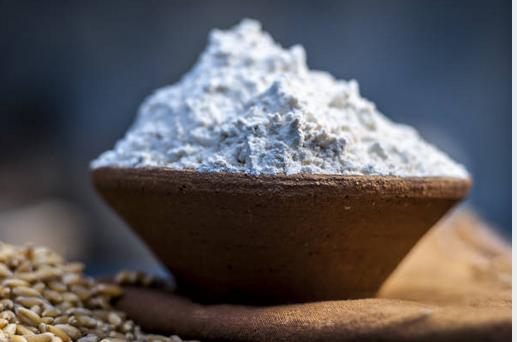 Deep dried flour